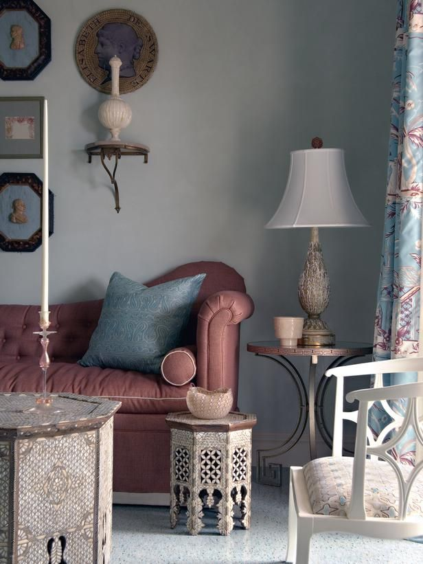 Eclectic Bedrooms from Barry Dixon on HGTV