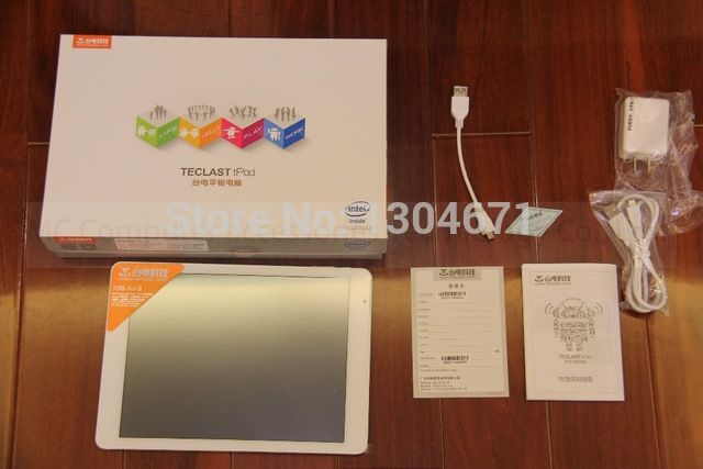 "NEW! Arrives Teclast X98 air ii quad-Core 9.7inch Tablet PC Z3736F 2G LPDDR3 32G eMMC 2048X1536 HDMI Price on the app: US $168.07 US $171.89-212.4 /piece Specifics Item Type	Tablet PC Tablet Data Capacity	32GB Network Communiction	Bluetooth,Wifi Screen Size	9.7"" Extend Port	3G External,Earphone Jack,HDMI,OTG,TF card Brand Name	Teclast Package	Yes Supporting Language	English,Russian,Spanish,Swedish,Portuguese,Turkish,Italian, Click link to buy other product http://goo.gl/K0keet"