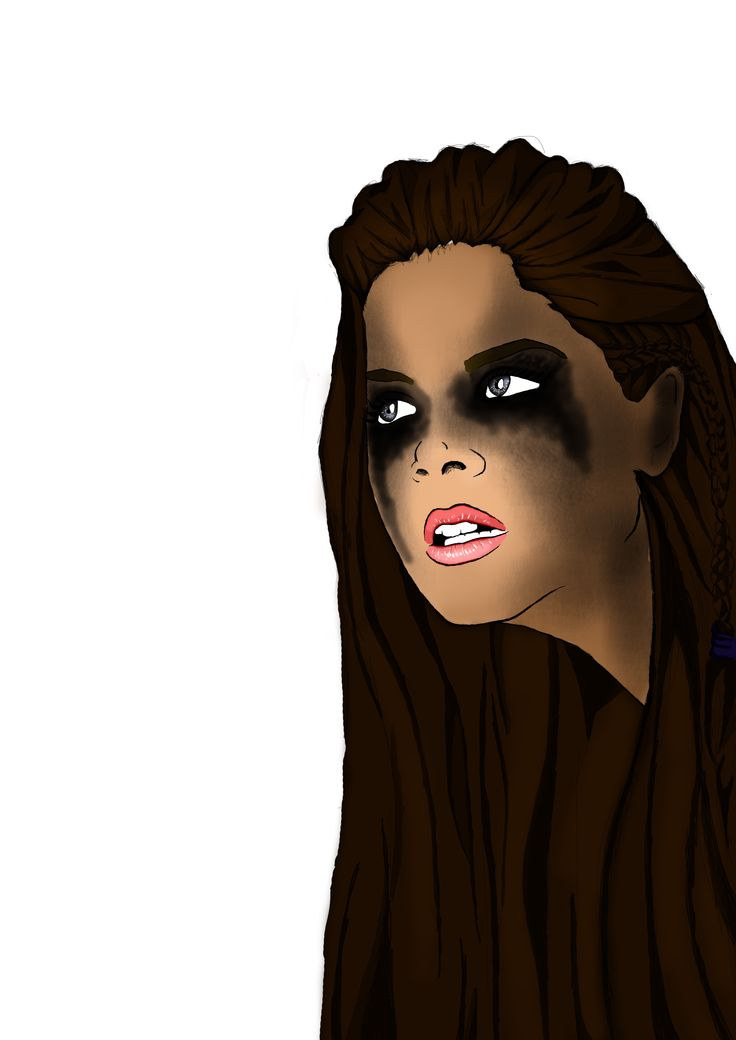 #Octavia #photoshop #art #The100 #graphic #draw