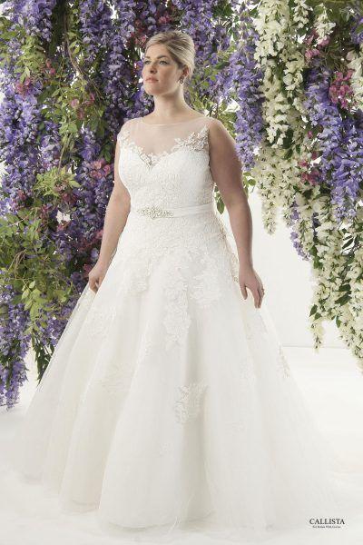 styles callista plus size wedding dresses