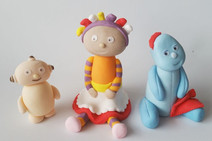 IN THE NIGHT GARDEN edible figures cake toppers decoration by jncakes