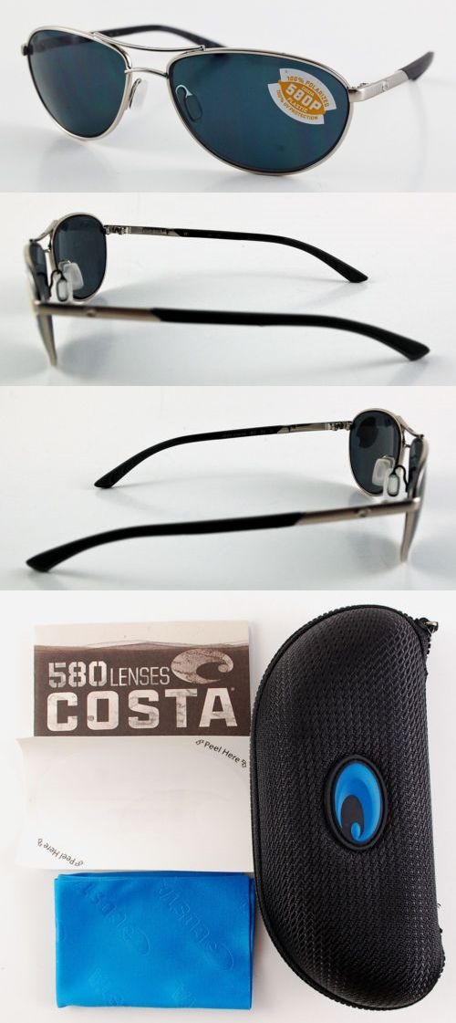 bdd45a71c422 Clothing Shoes and Accessories 179978  Costa Del Mar Kc Kc-21-Ogp 580P  Palladium Frame Gray Polarized Lenses -  BUY IT NOW ONLY   99.99 on eBay!