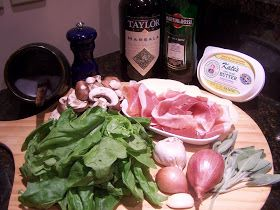 """Saltimbocca , translated means """"jumps in the mouth"""". If you've ever eaten veal or chicken saltimbocca, you'll understand just how appropria..."""