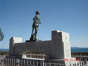 The Terry Fox Monument in Thunderbay, Ontario, Canada