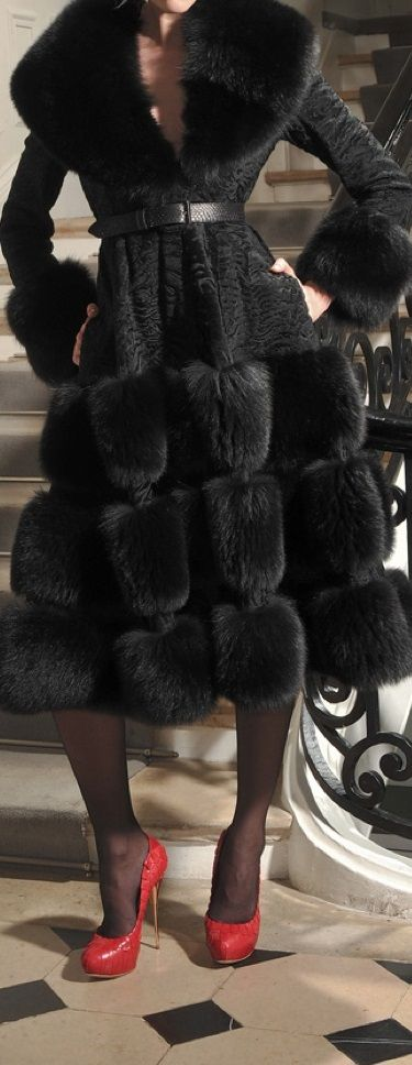 If this was a faux fur, I would hubby it down! I love it!