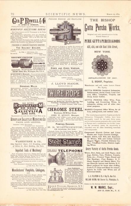vintage newspaper advertisement