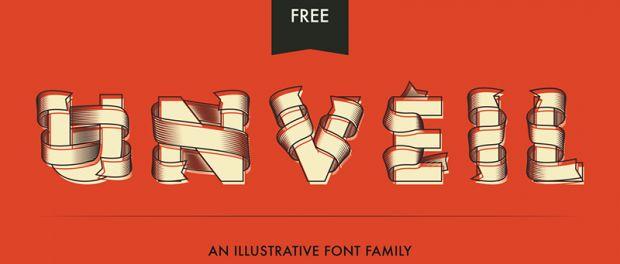 UnveilFree Vector Font