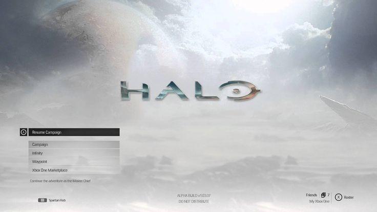 Halo 5 - Xbox One - Main Menu