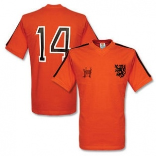 Cruyff Classic- Holland 1974 World Cup Final Number 14