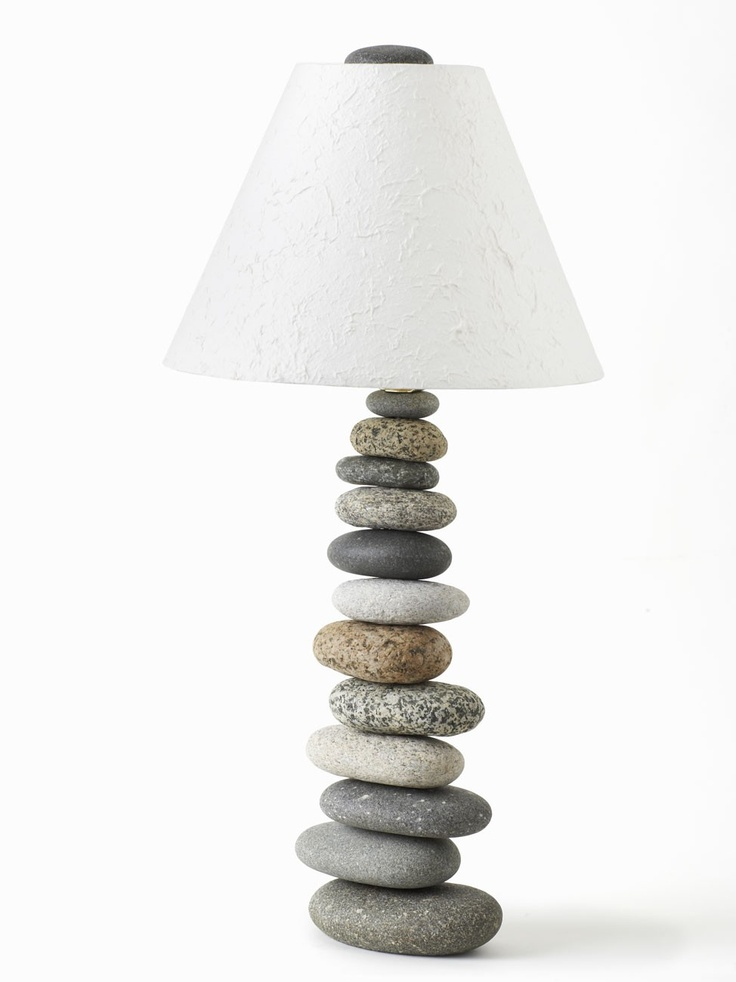 Balanced Stone Lamp 30 Most Creative And Unusual Lamp Designs