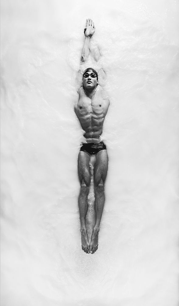 """ESPN / Carlos Serrao shoots """"The Opaque"""" for ESPN featuring Olympic swimmer Nathan Adrian"""