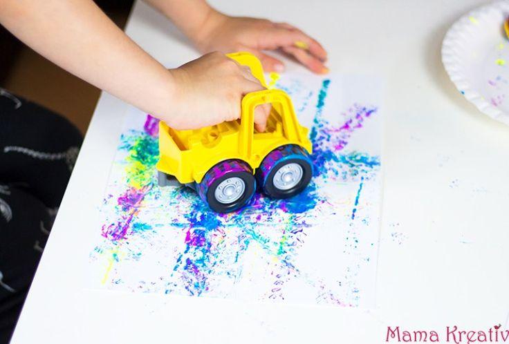 Malen mit Kindern: 4 coole Ideen, die Kindern Spaß machen