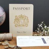 Passport To Love Travel Wedding Invitation