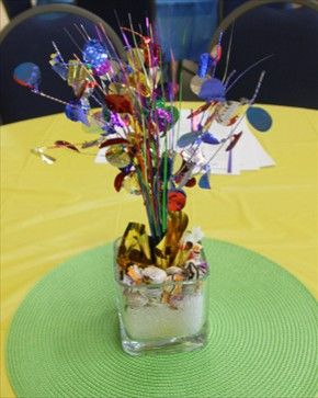 Table Center piece from the Innovative LIFE Options AGM 2013.  AGMs held annually either in Winnipeg or Brandon for ICOF Employers.