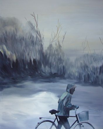 LOST PARADISE. Acrylic on canvas, 200x160 cm - Britta Westhausen