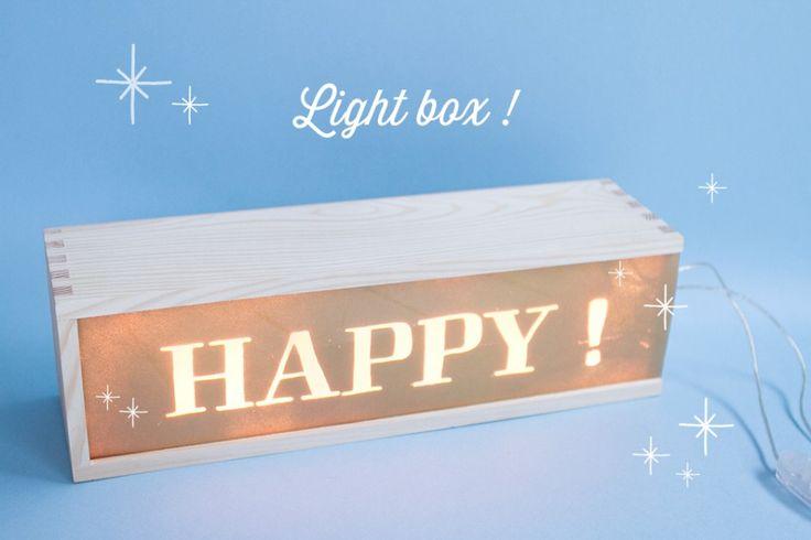 DIY světelná krabička. DIY Light booooooxes.