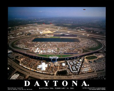 Daytona Speedway- stood on the sppedway, but never saw a race there!