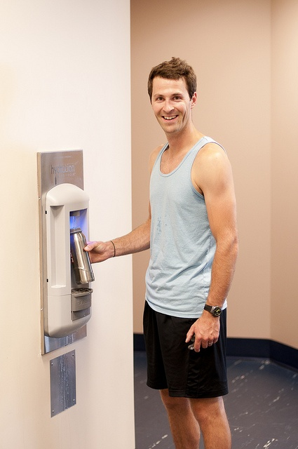 The Orillia YMCA will always keep you hydrated with our various water hydration stations