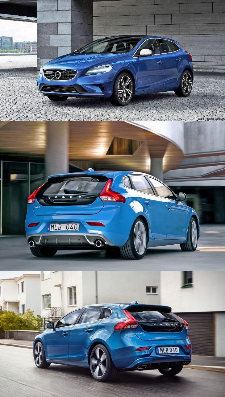 Facelift volvo v40 and v40 cross country launched in india starting at inr 25 49 lakh