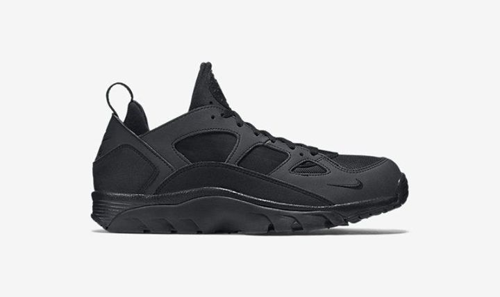 Available NOW. Nike Air Trainer Huarache Low Black  http://ift.tt/1S8oAYZ