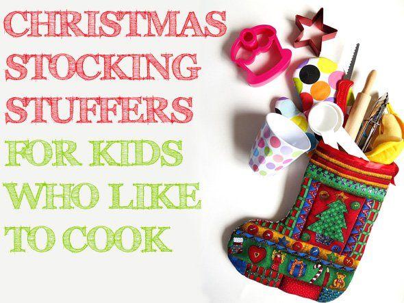 Christmas Stocking Stuffers for Kids Who Like to Cook