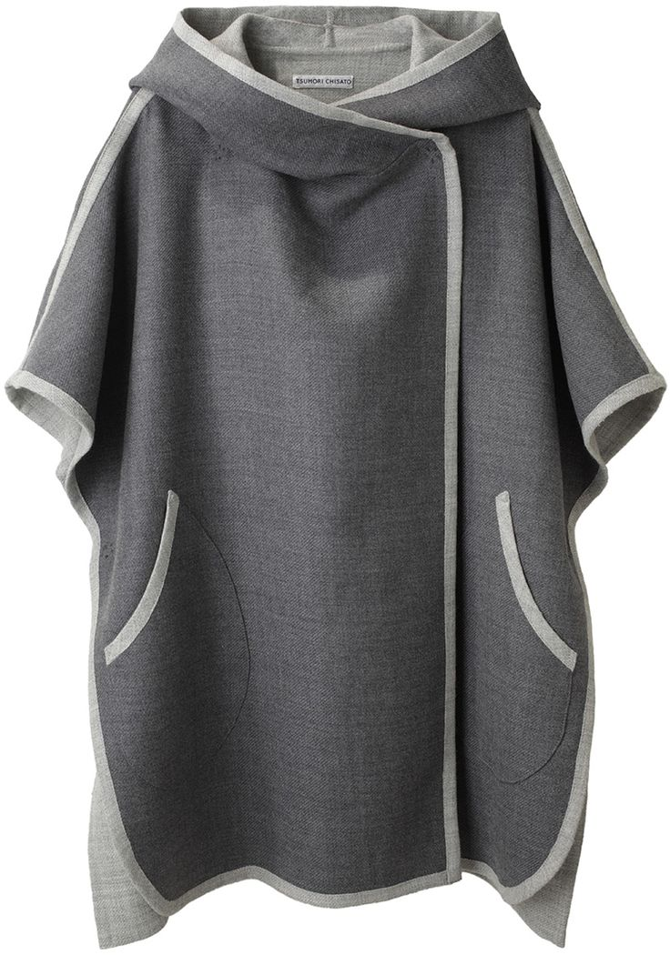 Tsumori Chisato Hooded Cape.  where does one get patterns to sew some of these clothes?
