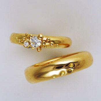 diamantring vielsesring guld diamant aftryk fingerring christel kaaber guldsmedie