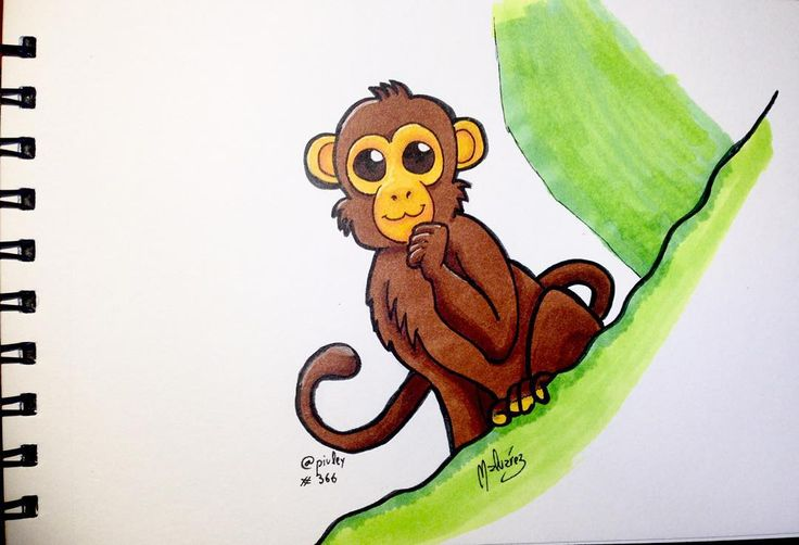 Feliz 2016 año del mono!  Según el horóscopo chino 2016 es el año del mono así que aquí tenéis un lindo monito para ambientar vuestras celebraciones del primer día del año que espero que estén siendo todas muy felices.Yo como veis seguiré con los #DailySketch habituales aunque iré subiendo más cosillas para dar variedad.  #HappyNewYear #FelizAñoNuevo #Feliz2016 #2016 #monkey #mono  #illustration #draw #sketch #drawing #art #artistsoninstagram  #traditional #traditionalart #markers #ink  #fur…