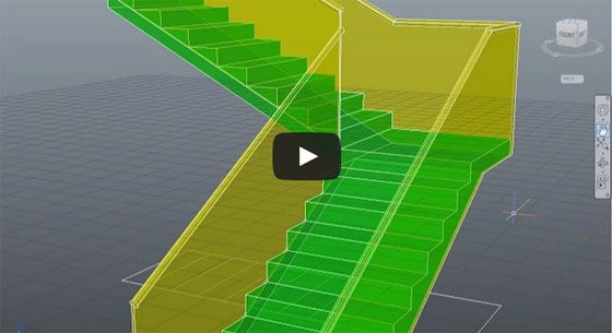 Learn to create a L-Type Stairs quickly with AutoCAD: This AutoCAD youtube lesson is specifically designed for advanced AutoCAD users. This AutoCAD course is offered by Prismacad.