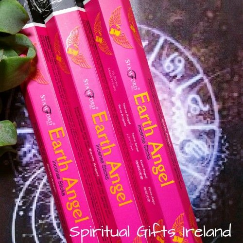 Visit our store at www.spiritualgiftsireland.com  Follow Spiritual Gifts Ireland on www.facebook.com/spiritualgiftsireland www.instagram.com/spiritualgiftsireland www.etsy.com/shop/spiritualgiftireland	 We are also featured on Tumblr  Angels are divine messengers sent to help us on our Spiritual journey, they are gifts from God. 🕊 Our Angelic Earth Angel Incense will help to restore your happiness, health, peace and abundance. 🌌  Stamford incense sticks are individually hand rolled, made…