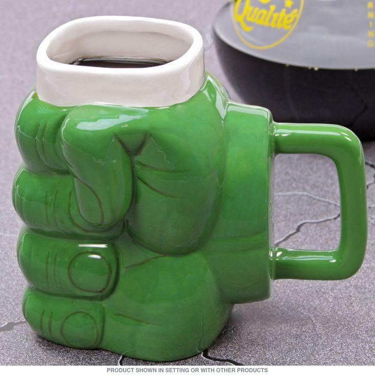 Superhero Don't Make Me Angry Hulk-Style Coffee Mug | Ceramic Mugs | RetroPlanet.com  #mugs #coffee  Everyone has those days where they feel like the hulk!