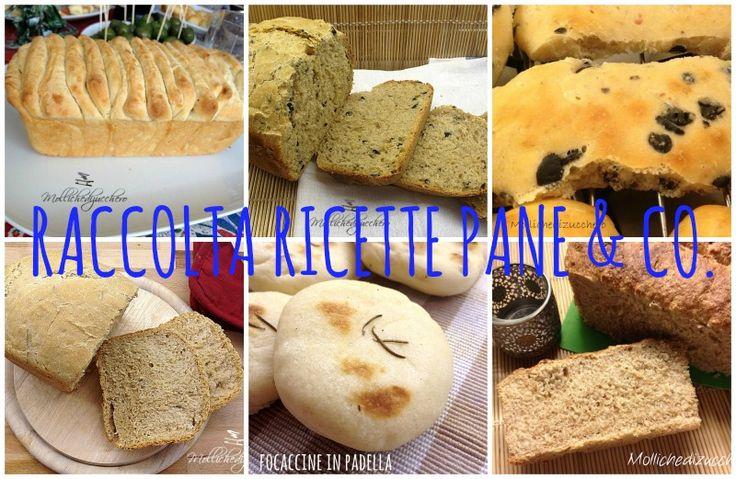 Raccolta ricette Pane & Co.