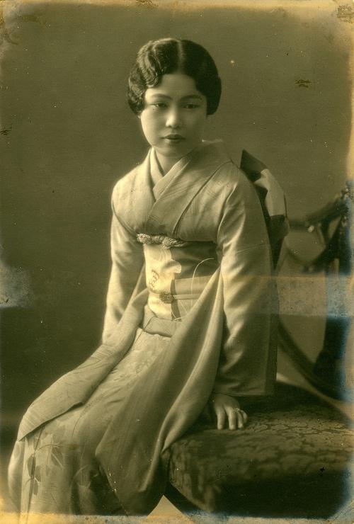 Unknown Woman, Japan, 1930s