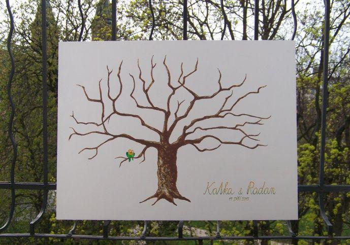 SVATEBNÍ STROM pro Katku a Radana, na jehož větve bude v září otiskovat své prstíky zhruba 80 svatebních hostů. Zvolila jsem pevnou desku, akrylové pokrytí a přírodní barvy. Až se strom vybarví prstolisty, zkrášlí ho ještě rám... * Autorská tvorba Lady Lu. * ZAKÁZKY:O své obrazy, obrázky či ilustrace na přání si pište na jastvi@email.cz. * MÉ PRODEJNÍ GALERIE:http://www.fler.cz/shop/love*http://society6.com/ladylu * #wedding #tree #ladylu #painting #commission