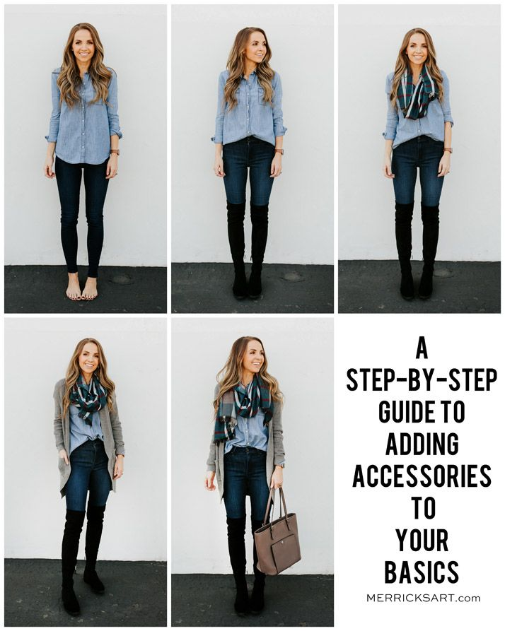 e138d37f5664 five easy steps to take a basic outfit and make it perfect for fall with  accessories! | merricksart.com