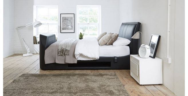 Ultimate King Size (5 Ft) Media TV Bed Ultimate Faux | DFS