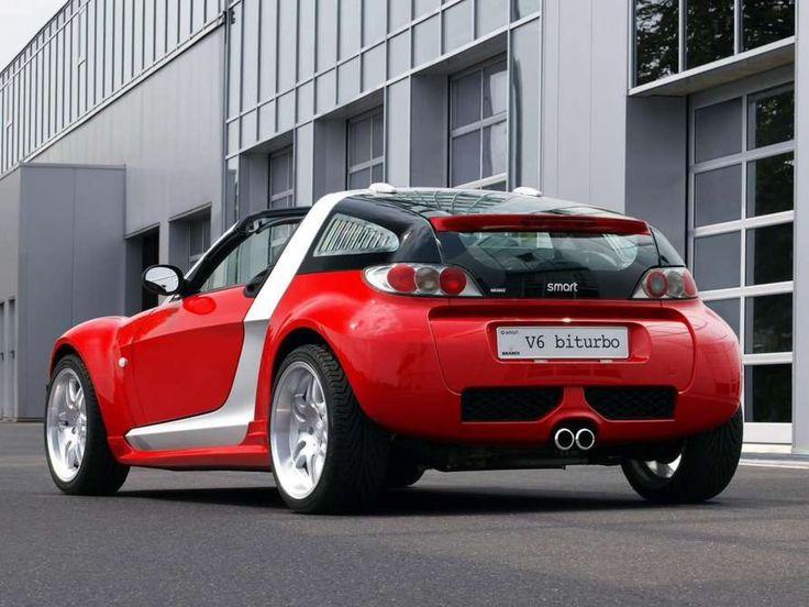 brabus smart roadster coupe v6 biturbo cars pinterest. Black Bedroom Furniture Sets. Home Design Ideas