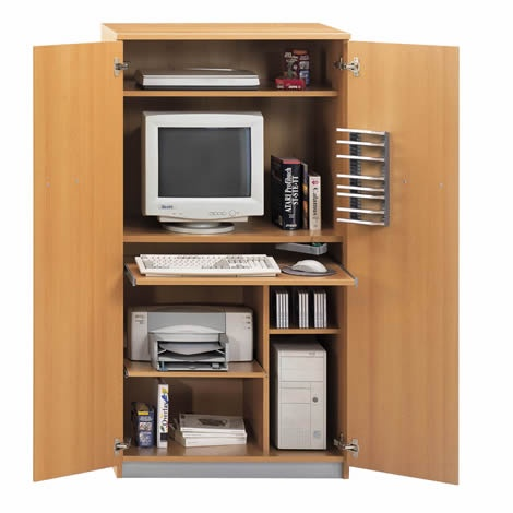 17 Best Images About Computer Cupboards On Pinterest