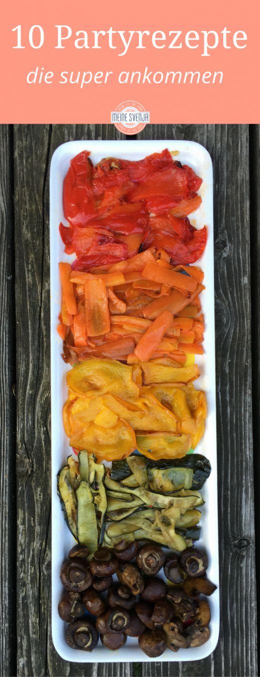 Partyrezepte: 10 Ideen für eine köstliche Gartenparty. Antipasti, Dips, Nachtische, Hot Dogs - alles, was ihr zur Partyplanung braucht. Auf dem Blog von meinesvenja http://www.meinesvenja.de/2012/06/16/10-ideen-fuer-eine-koestliche-gartenparty/