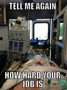 Tell me again how hard your job is... #Nurses #NurseHumor #WorkLife