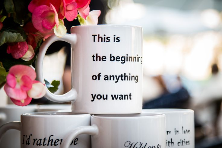 This is the beginning of anything you want