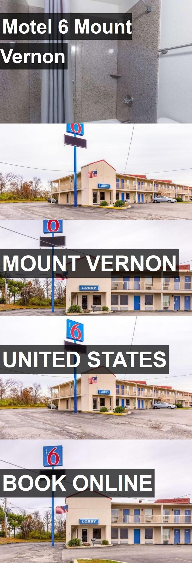 Hotel Motel 6 Mount Vernon in Mount Vernon, United States. For more information, photos, reviews and best prices please follow the link. #UnitedStates #MountVernon #travel #vacation #hotel