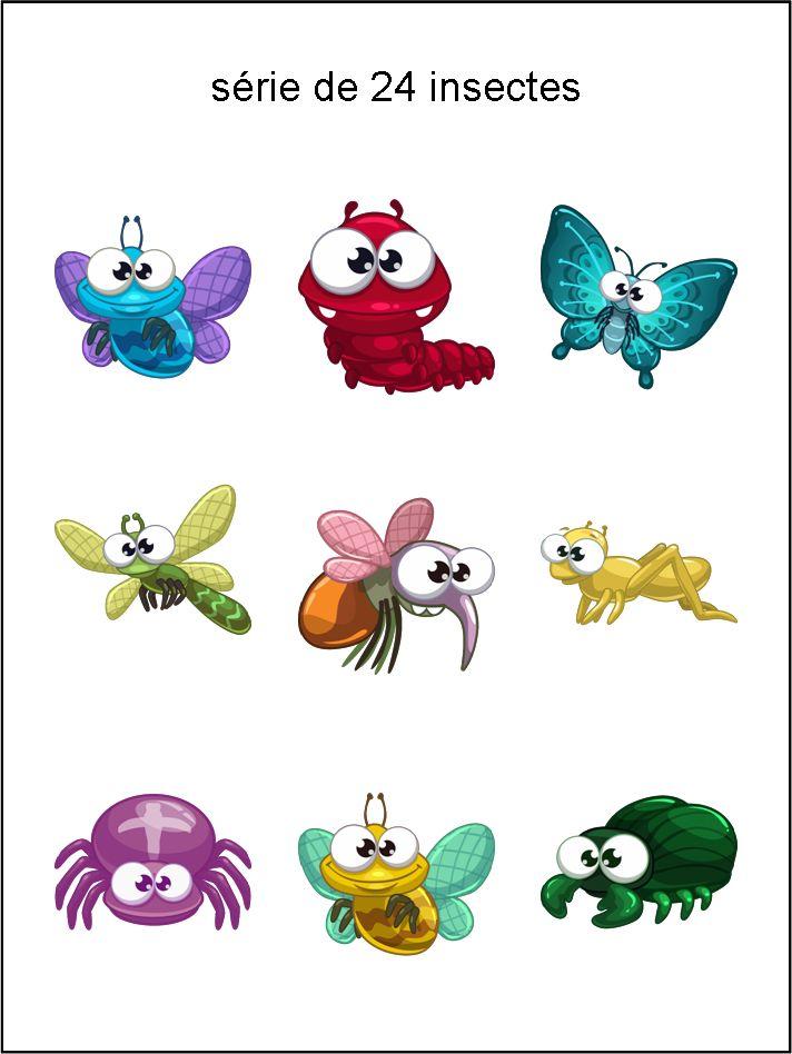 émoticônes, smileys, cliparts, insectes, jaune, vert, rouge, bleu, rose, violet, orange, gris, brillant, glossy, mouche, chenille, papillon, scorpion, sauterelle, mouche, libellule, araignée, chapeau, téléchargement, gratuit, séries, collections