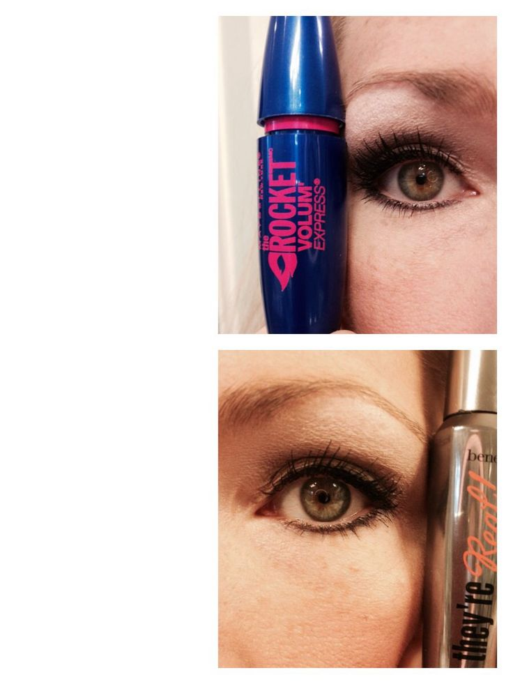 Benefit yes they're real mascara dupe! I think I actually like the maybelline better!