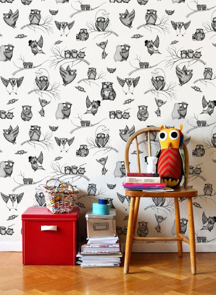 """Per la serie """"consigli su come decorare una parete"""" eccovi alcune idee con delle carte da parati alquanto bizzarre. Da inspirewetrust.com"""