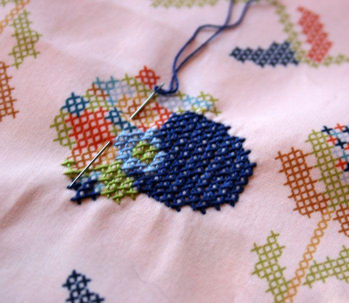 Best cross stitch fabric prints images on pinterest