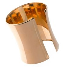 brazalete, abierto, simple, bronce, Salvatore