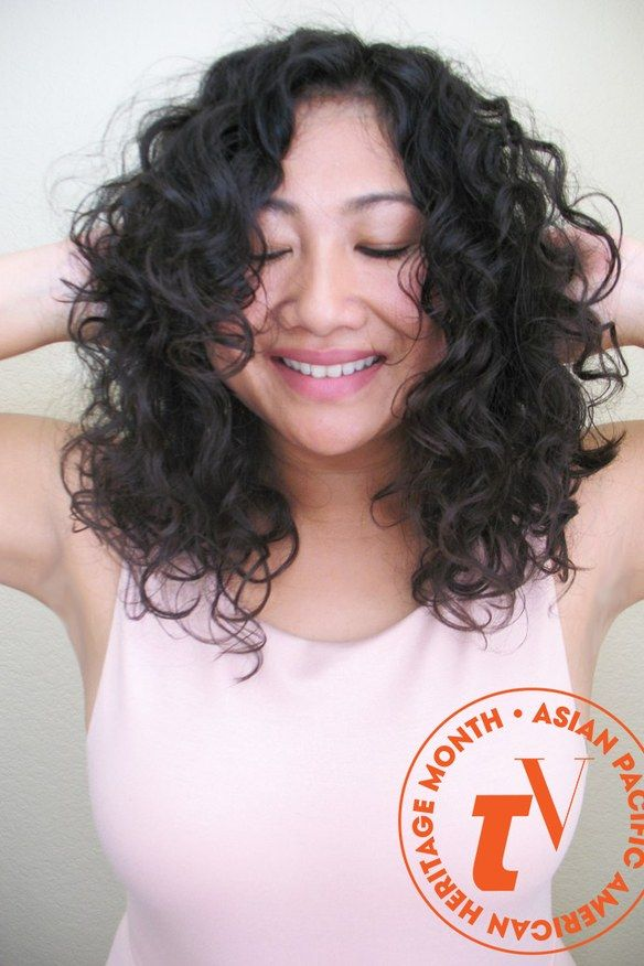 Why I Want To See More Asian Women Embrace Their Natural Curls Curly Asian Hair Curly Hair Styles Asian Hair Perm