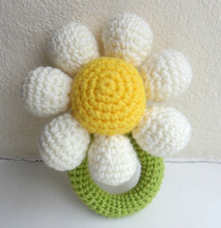 Crochet Flower Girl Baby Rattle Bouquet - gotta try again! its almost a scientific fact ur more fertile after a mc. I concieved L exactly 14 days after the first mc on Jan 4.