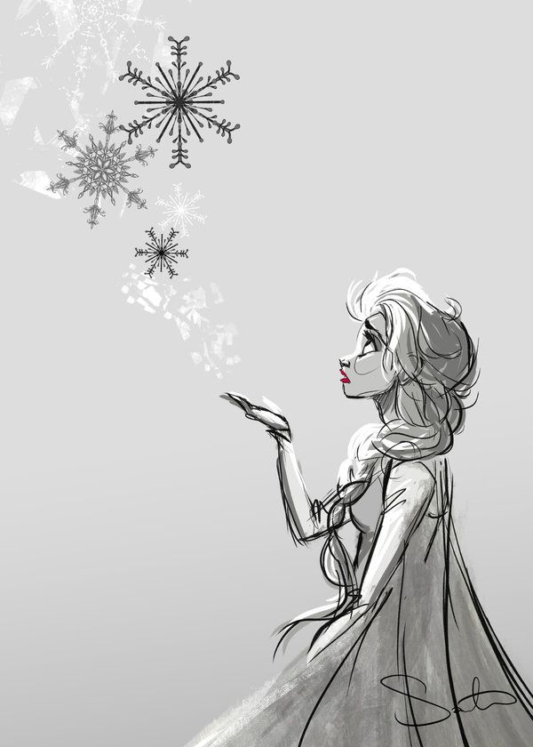 """A kingdom of isolation, and it looks like I'm the queen"" Queen Elsa// Disney's movie - Frozen ♥"